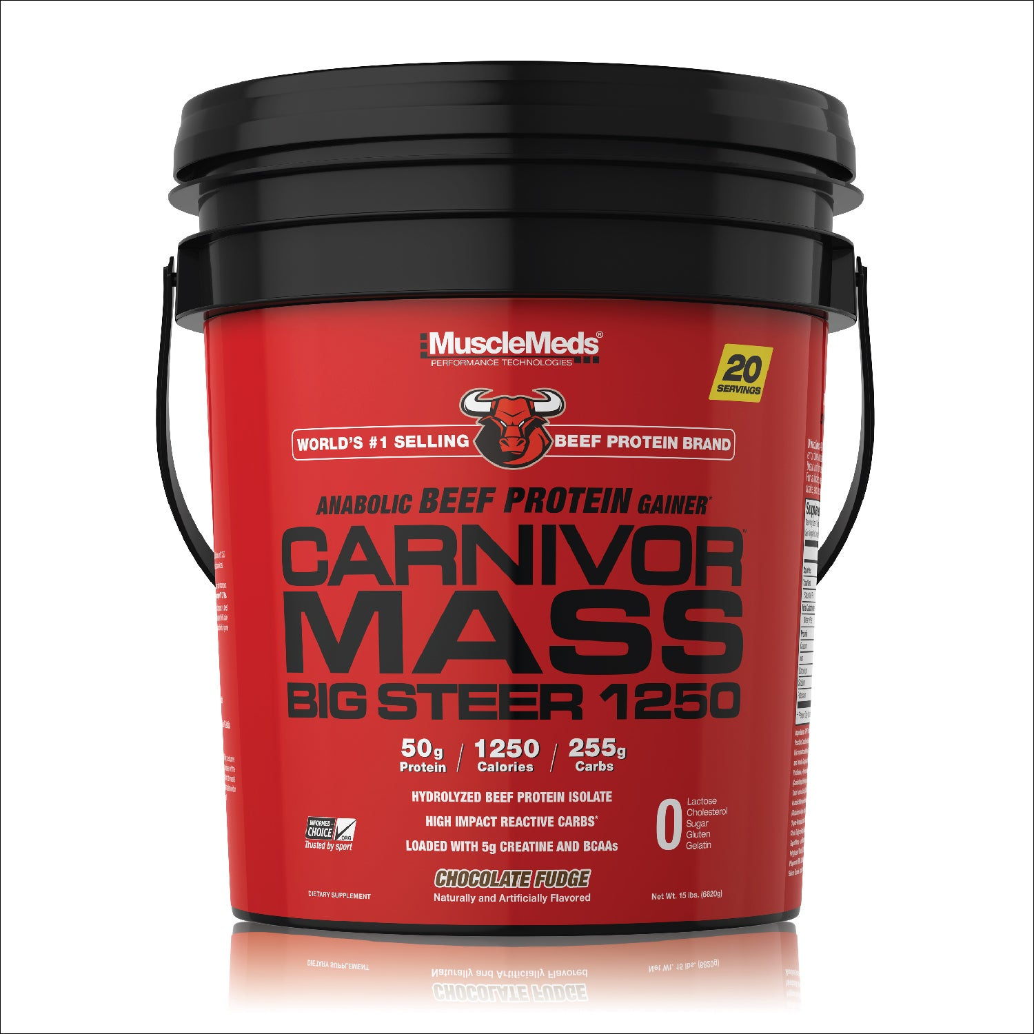 CARNIVOR MASS BIG STEER TUB