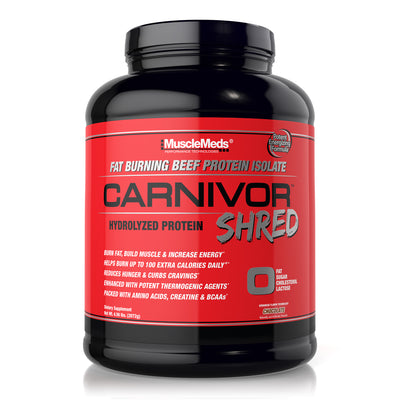 CARNIVOR SHRED CHOCOLATE 4lb BOTTLE