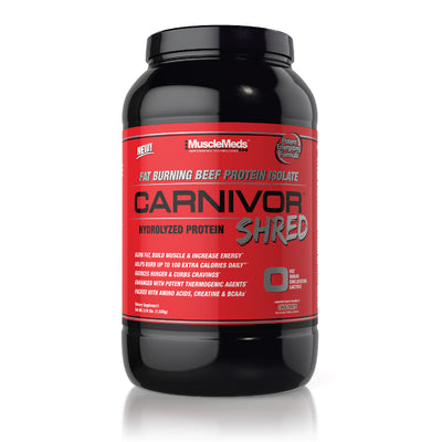 CARNIVOR SHRED CHOCOLATE 2lb BOTTLE