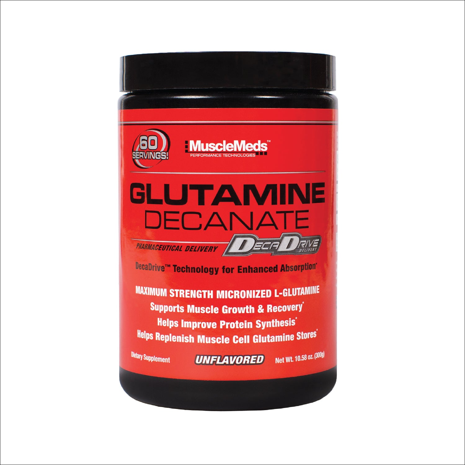 GLUTAMINE DECANATE BOTTLE