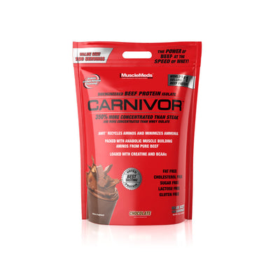 Carnivor Beef Protein - 8 Lbs Bag Chocolate Fudge