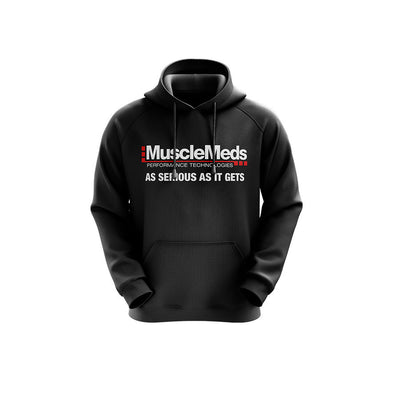 MuscleMeds Hoodie - Black