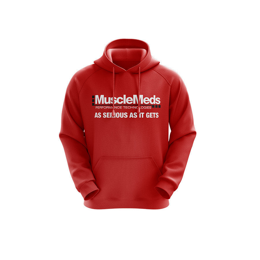 MuscleMeds Hoodie: As Serious As It Gets