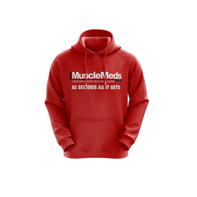 MuscleMeds Hoodie - Red