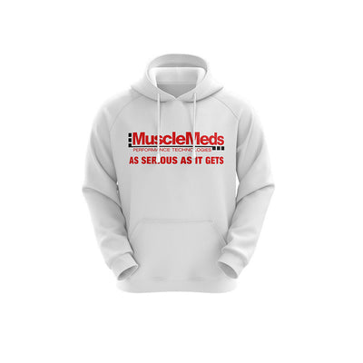 MuscleMeds Hoodie - White