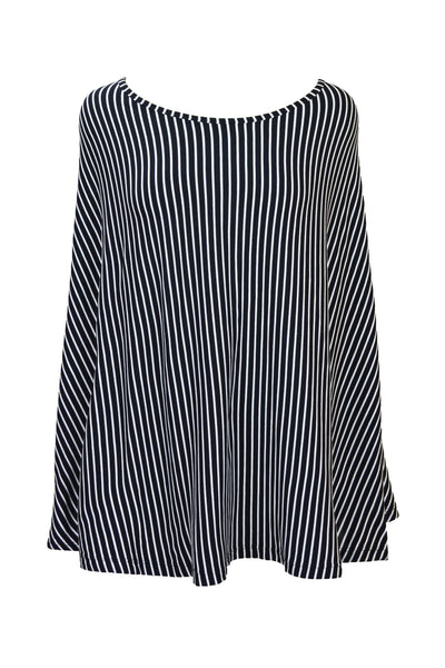 nursing wrap · black & white stripe