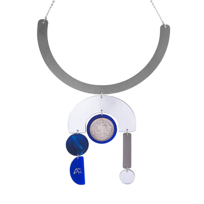 Blue Temple Necklace - Kowli Shop