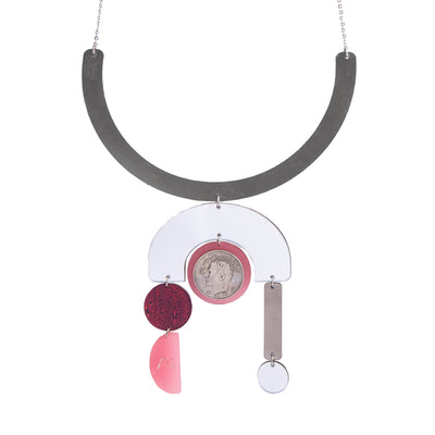 Red Temple Necklace - Kowli Shop