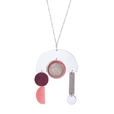 Red Tripod Necklace - Kowli Shop