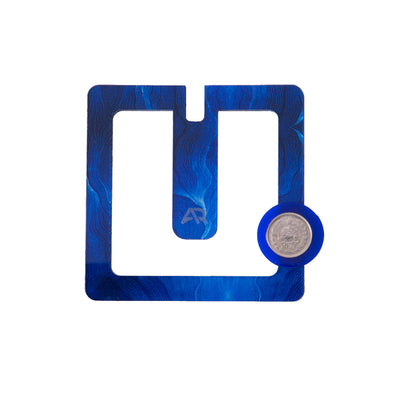 Blue Square Brooch - Kowli Shop