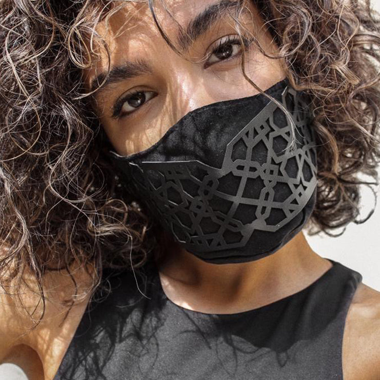 Lili Vegan Leather Face Mask - Kowli Shop