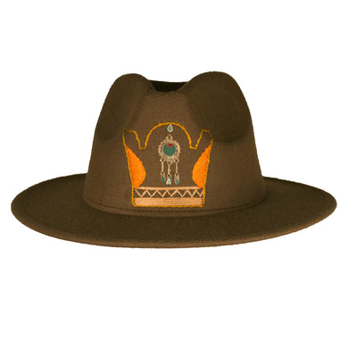 Crown Fedora Hat