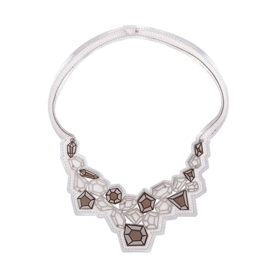 Cut Gems Necklace - Kowli Shop