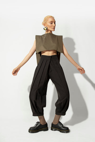 Super Pleated Trousers - Kowli Shop