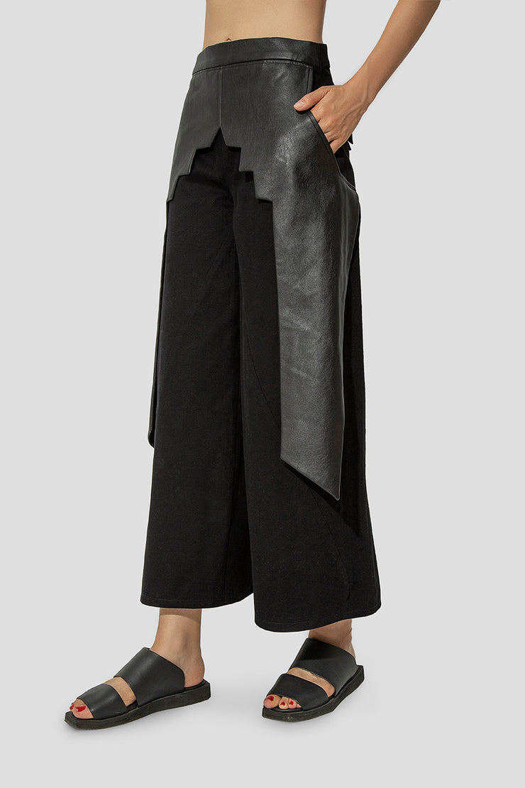 Negative Black Trousers - Kowli Shop