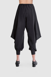 Black Section Trousers - Kowli Shop