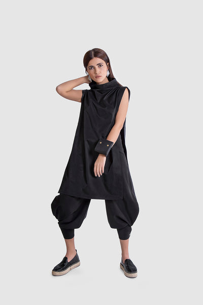 Black Deconstruction Top - Kowli Shop