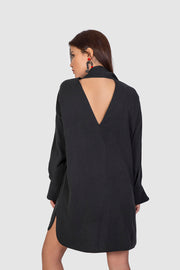 Black Backless Dress - Kowli Shop