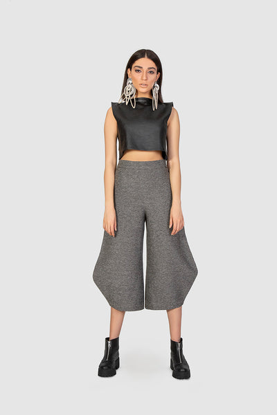 Grey Woolen Trousers