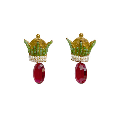 Royal Crown Earrings