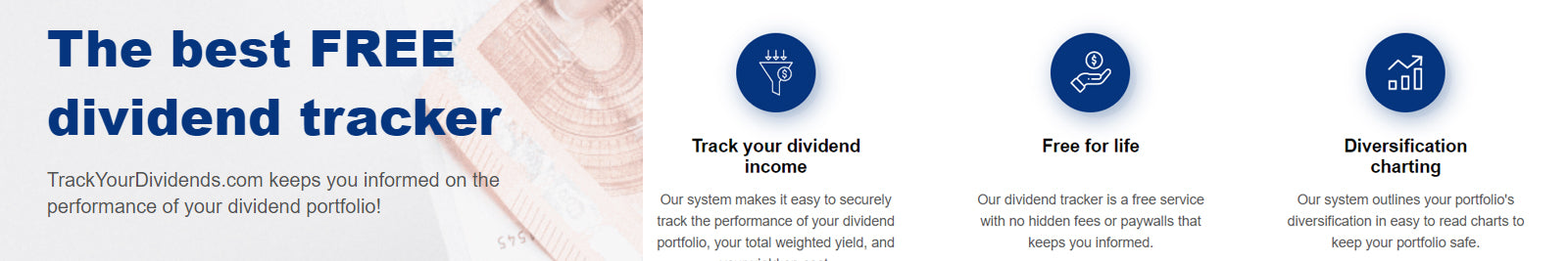track your dividends