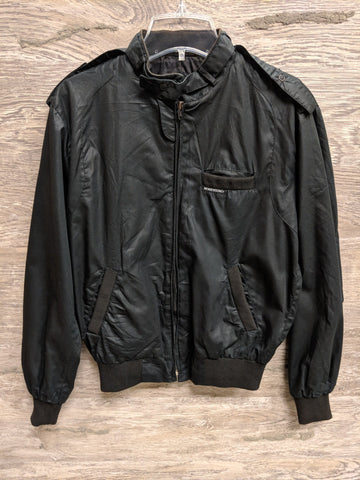 Members Only Black Women's Racer Jacket - Closet Freekz