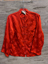 Peony Red Floral Long Sleeve Button Up - Closet Freekz