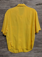 N+L Fashion Yellow Button Up - Closet Freekz