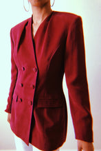 Jones New York Wine Blazer - Closet Freekz