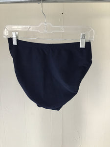 Blatex Navy Blue Ribbed Swim Bottoms - Closet Freekz