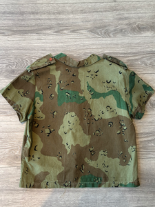 California Costume Collections Army Button Up Top