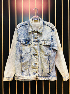 AS IS - Made in the Shade Acid Wash Denim Jacket