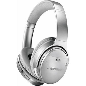 Bose QuietComfort 35 II Wireless Over-Ear Headphones (Silver)