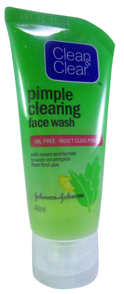 Clean & Clear Pimple Clearing Face Wash 80 ML