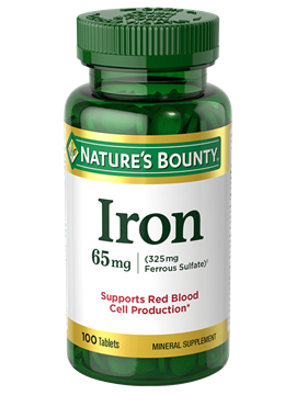 Nature's Bounty Iron 65 MG 100 Tabs