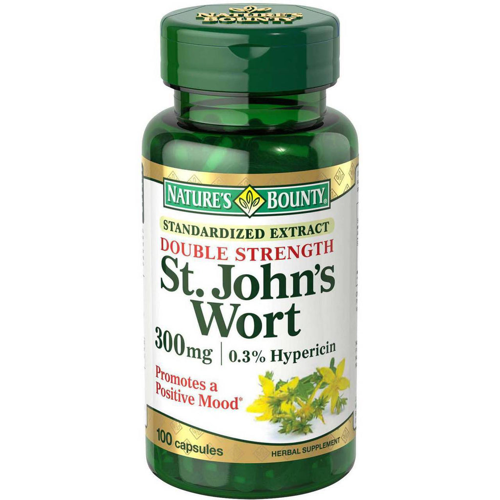 Nature's Bounty St. John's Wort 300 MG 100 Caps