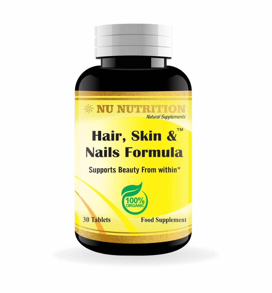 Nu Nutrition Hair, Skin & Nails Formula 30 Tablets