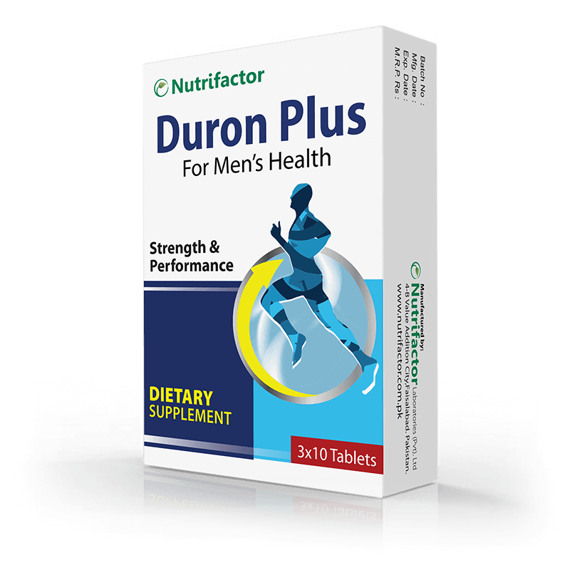Nutrifactor Duron Plus 30 Tabs (Men's Health Support)