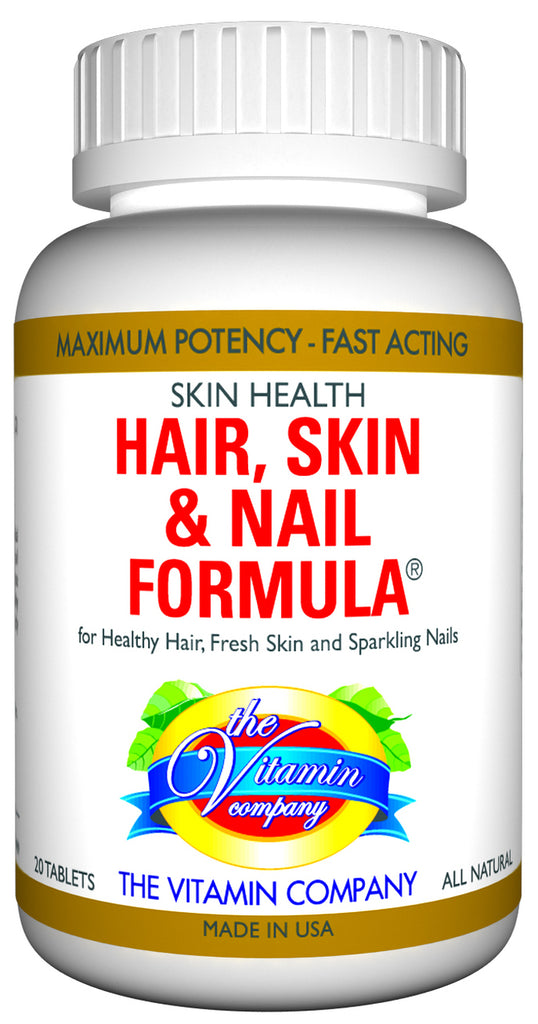 The Vitamin Company Hair, Skin & Nail Formula 20 Tablets
