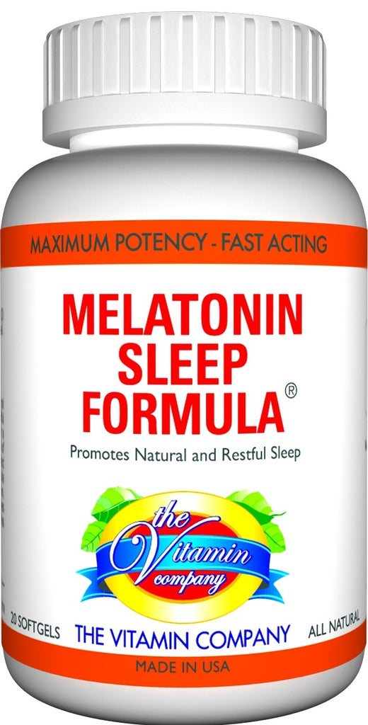 The Vitamin Company Melatonin Sleep Formula 20 Capsules