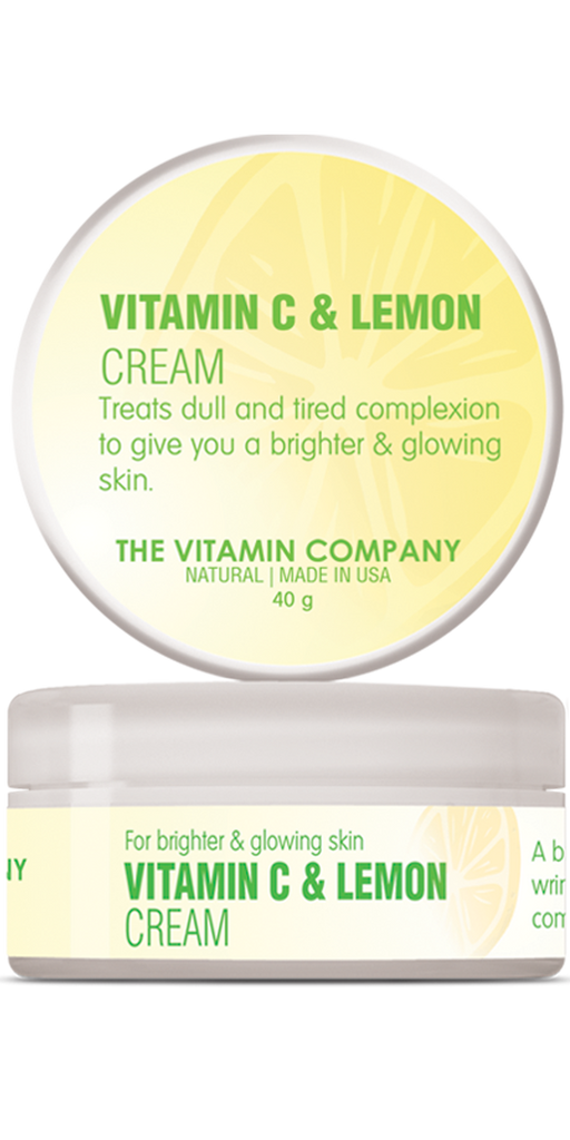 The Vitamin Company Vitamin C & Lemon Cream 40 Grams