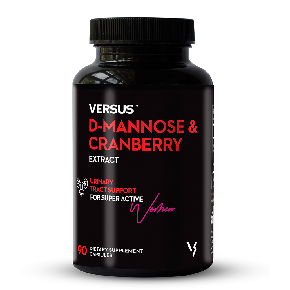 Versus D-Mannose and Cranberry Extract 90 Capsules