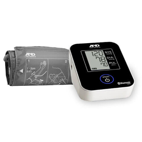 A&D Deluxe Bluetooth Connected Blood Pressure Monitor