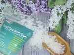 Mg12 Dead Sea Bath Salts 2.2 lb with Eucalyptus Essential Oil