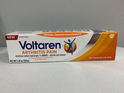 Voltaren Topical Arthritis Pain Relief Gel - 5.29 Ounce Tube (150g)