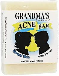 Grandmas Acne Soap Bar Normal Skin