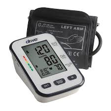 Drive Medical Deluxe Automatic Blood Pressure Monitor- Upper Arm