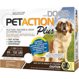 PetAction Plus Flea, Tick & Lice Treatment, for Large Dogs, 89-132 lbs - 3 pack
