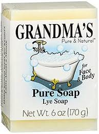 Grandma's Lye Face & Body Soap - 6 oz