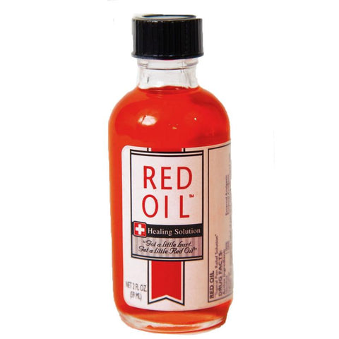 Red Oil Healing Solution 8 Ounce Bottle